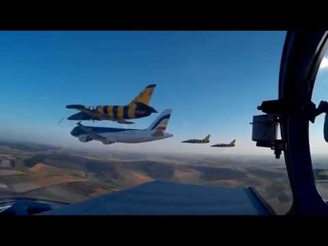 Air moldova & Baltic Bees jet team