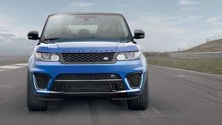 Performance Test: 2015 Range Rover Sport SVR