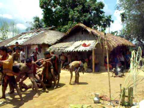 Kokborok Music goria Dance Bangladesh Avril 2009 4 4 video