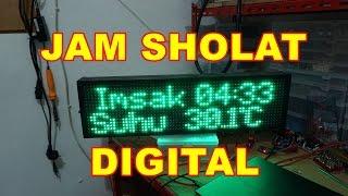 Modul Jadwal Sholat Digital Mini