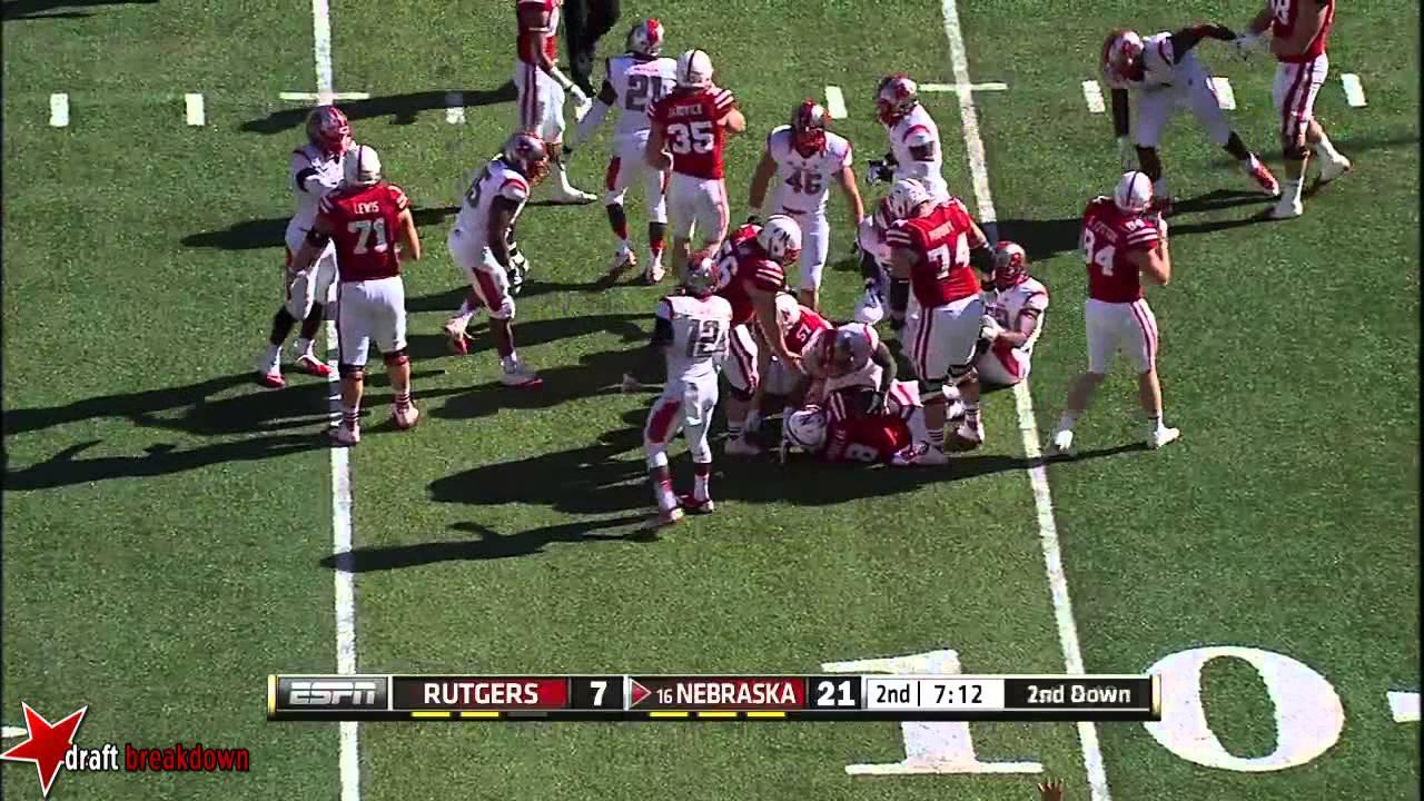 Ameer Abdullah vs Rutgers (2014)