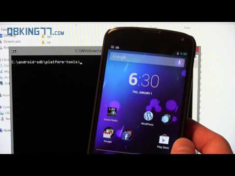 How to Manually Update the Google Nexus 4 to Android 4.2.2