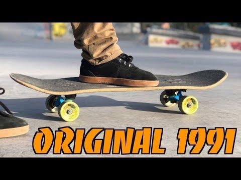 Testing An Original Skateboard From 1991