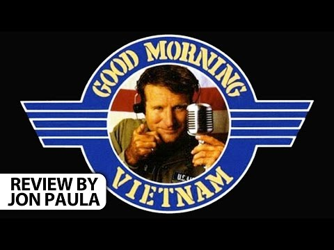 Good Morning Vietnam -- Movie Review #JPMN