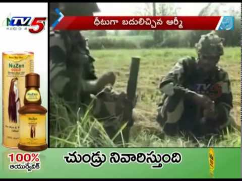 India Hits Back Pakistan, After Attack On 40 BSF Border Posts : TV5 News