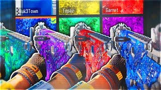 HOW TO GET NEW DARK MATTER CAMO COLORS - 5 NEW RARE CAMOS IN BLACK OPS 3! (INSANE New Camos)