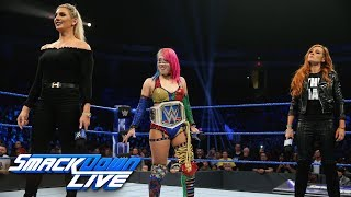 Lynch and Flair want the next SmackDown Women's Title Match: SmackDown LIVE, Dec. 18, 2018