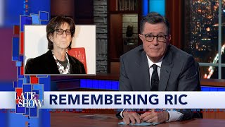 Stephen Colbert Remembers Ric Ocasek