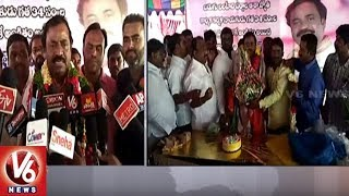 State Cable Operators Association President Middela Jithender Celebrates Birthday In Champapet