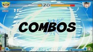 Naruro Uzumaki (Sage Mode) Combos   vs Naruto 2.6   BvN Combos