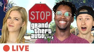 We Try Playing Grand Theft Auto 5 Without Breaking Any Laws • Live