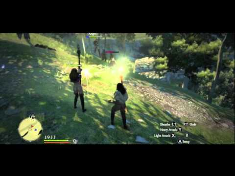 Female Mob Attack leaves camp in ruins - Dragon's Dogma