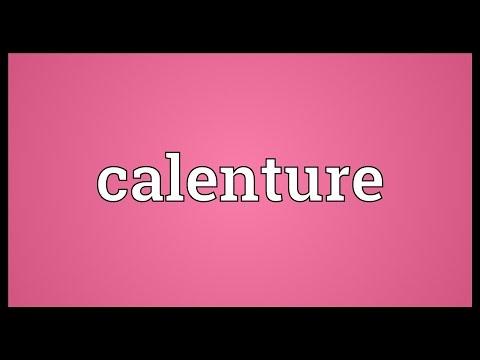 Header of calenture