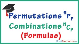 Permutations and Combinations – Formulae ( GMAT / GRE / CAT / Bank PO / SSC CGL)
