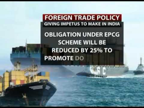 Government unveils new Foreign Trade Policy