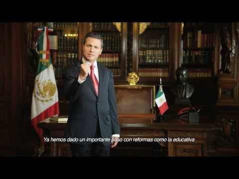 Primer Informe de Gobierno Presidente Peña Nieto Despacho