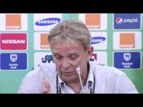 Cameroun - Conférence de presse (24/01) - Orange Africa Cup of Nations, EQUATORIAL GUINEA 2015