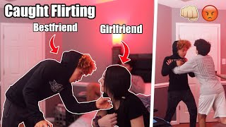 I Caught My BESTFRIEND Flirting With My GIRLFRIEND! (CAUGHT ON CAMERA)