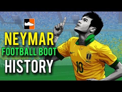 Neymar's Football Boot History