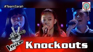 The Voice Teens Philippines Knockout Round: Bryan vs. Jona vs. Fatima
