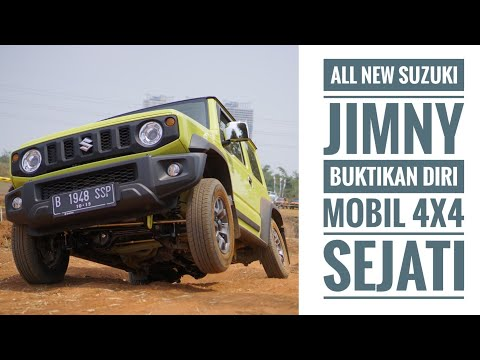 Nyiksa All New Suzuki Jimny di Lintasan Off-road