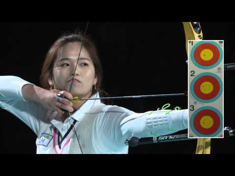 Recurve Women Bronze - Nîmes - Indoor World Cup 2013