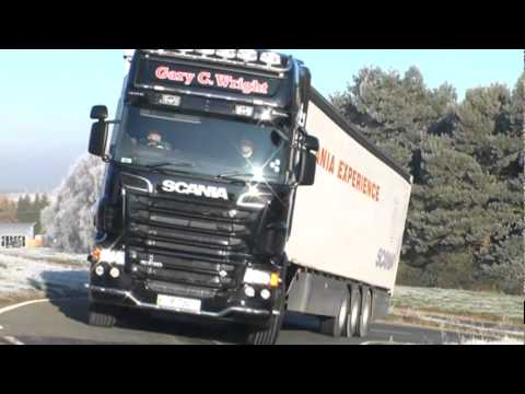 Allan McNish drives the world's most powerful truck