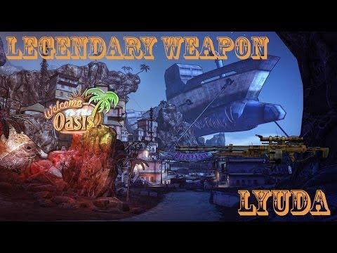 Borderlands 2 легендарные пушки - #7 Lyuda (Максим)