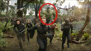HERE IS EXACTLY WHY HULK WAS NOT IN AVENGERS INFINITY WAR BUT IN TRAILER //FAN THEORY//
