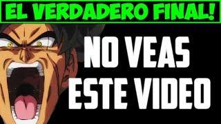 FINAL OFICIAL de la PELICULA DE BROLY - Dragon Ball Super