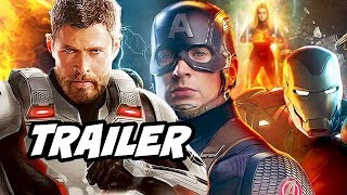 Avengers Endgame Trailer and Thor 4 Teaser Breakdown
