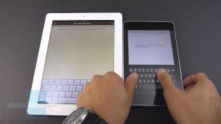 Google Nexus 7 vs Apple iPad 3