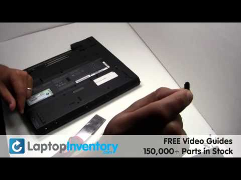 IBM Lenovo Touchpad Replacement Guide - Palmrest Repair Fix T40 T40p T41 T41p T42 T42p T43