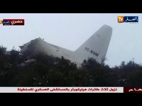 Lone survivor found, scores killed in Algeria plane crash