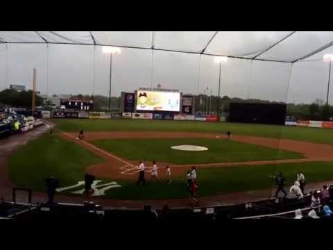 Derek Jeter farewell ceremony at George Steinbrenner field in Tampa