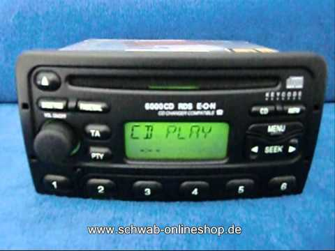 Ford 6000 CD / carradio car Radio Autoradio decode encode code safe 6000cd XS7F-18C815-AB