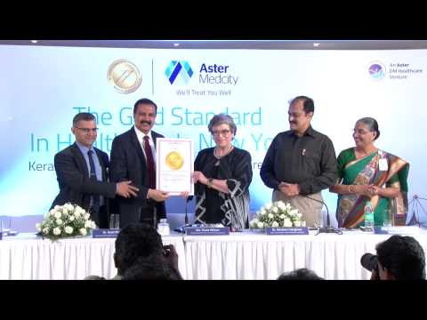 Aster Medcity Wins JCI Accreditation For World Class Healthcare - Press Meet ( Video)