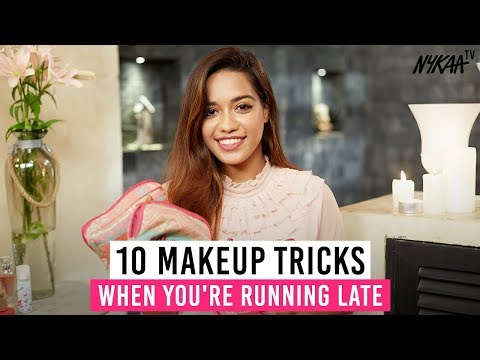 10 Makeup Tricks When You're Running Late + GIVEAWAY (CLOSED) | Debasree Banerjee
