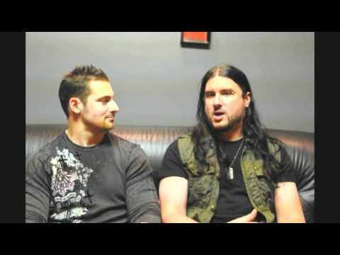 Trivium Interview with Guitarist Corey Beaulieu Backstage on 2012 Reckless&Relentless Tour