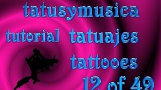 tutorial de tatuajes
