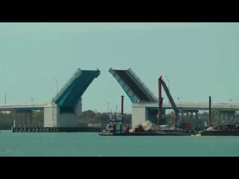 Indian River Free Drawbridge Video while fishing  WillCFish Tips and Tricks.