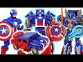 Marvel Captain America Wolverine Transformers Appeared Optimus Prime Bumblebee DuDuPopTOY mp3