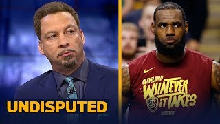 Chris Broussard reveals the key to the Celtics taking 2-0 lead over LeBron's Cavs | NBA | UNDISPUTED