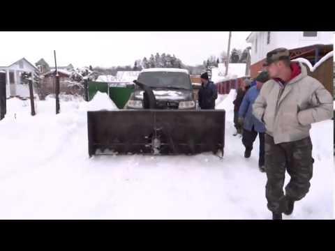 Уаз снегоуборщик
