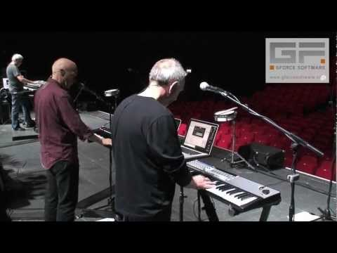 Ultravox 2012 Tour - GForce Soundcheck chat