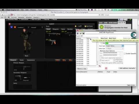 how to coint hack red crucible 2 on mac or windows