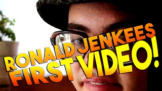RonaldJenkees First Video EVER! | Youtubers First Videos Ever | Youtubers First Time
