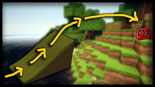 Minecraft: How to make working ramps