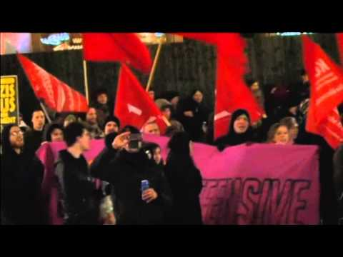 Vienna Rally Against Right-Wing Ball: Around 5000 demonstrators joined protests