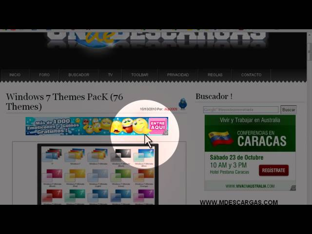 (Regalo) Windows 7 Themes PacK (76 Themes)